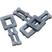 Пряжка пластиковая для ленты упаковочной