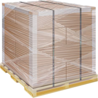 Защита груза при стреппинг упаковке