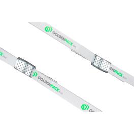 Стреппинг лента с логотипом