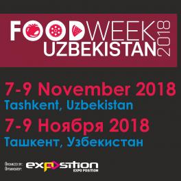 Выставка пищевой продукции Food Week Uzbekistan 2018